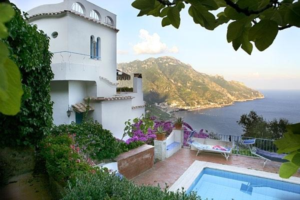 Ravello Retreat Amalfi villa with view, Ravello villa rental with pool, wedding villa on Amalfi coast, Villa with parking Ravello - Image 1 - Ravello - rentals