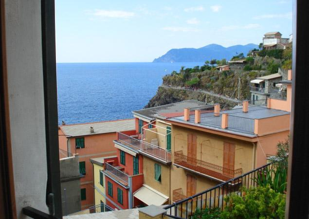 view from the studio apt. - IL Patio - Manarola - rentals