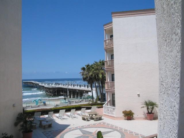 View from our Condo - Fabulous San Diego Two Bedroom Condo On The Sand - Pacific Beach - rentals