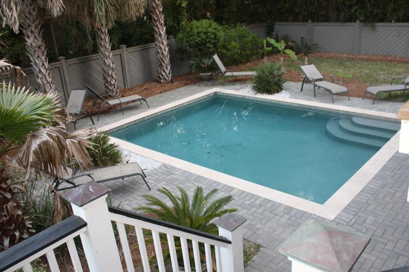 Pool heated April through October at no charge - Beautiful 5 Br Home - Private Pool, Short Walk to - Isle of Palms - rentals