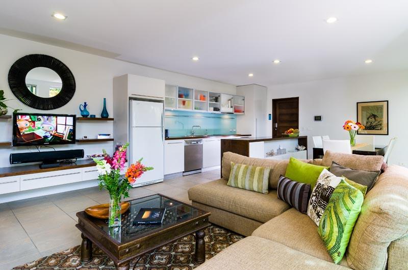 Open Plan Living, Dining & Kitchen - LakeSong@LennoxHead - Lake Ainsworth - Lennox Head - rentals