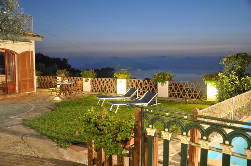 garden and sea view - casa 2 ulivi,pool,garden,breathtaking sea view - Massa Lubrense - rentals