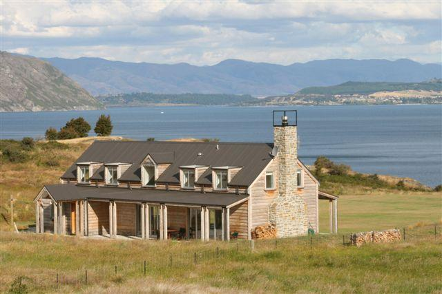 View of house - Buchanan Lodge - Boutique Wanaka Lakefront Lodge - Wanaka - rentals