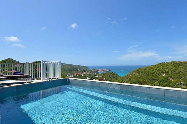 Traditional style villa with sweeping countryside and ocean views WV SVV - Image 1 - Colombier - rentals