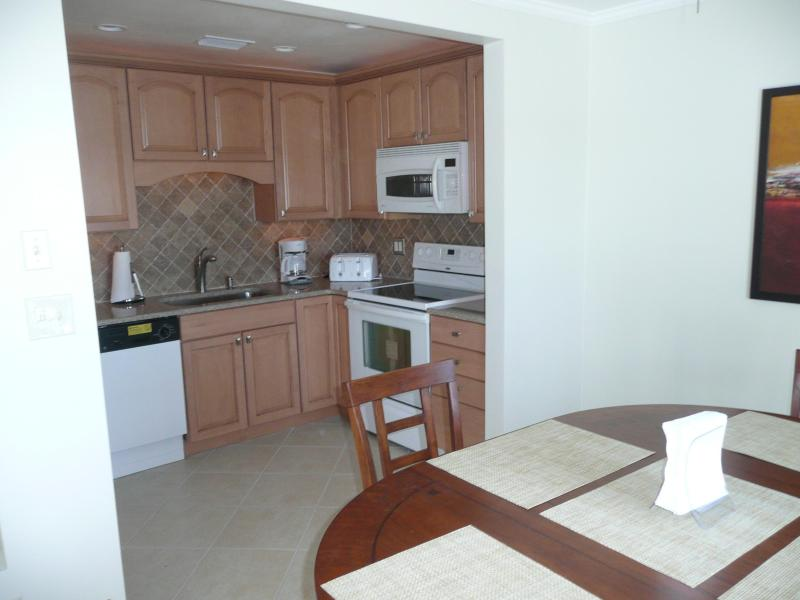 DW/Sink/Coffee/ Blender from Dining room - Waterside At Coquina Key, Gated, Key West Style - Saint Petersburg - rentals