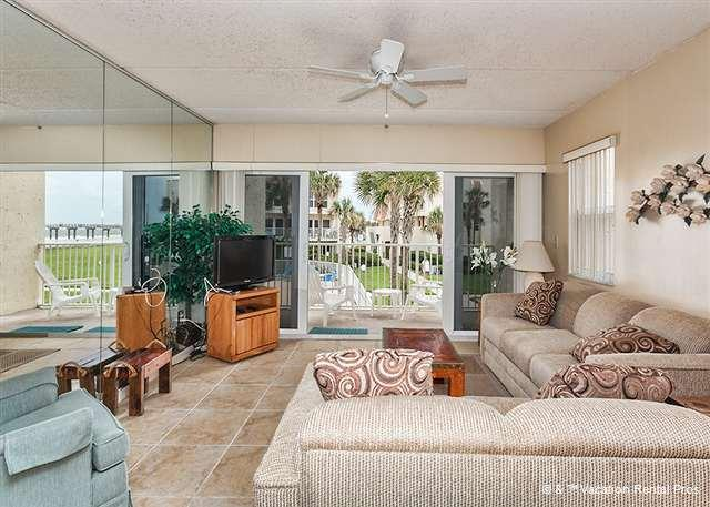 St. Augustine Beach and the pier are a few steps away! - Pier Point 55, OceanViews, Pool at St Augustine Beach Pier - Saint Augustine - rentals