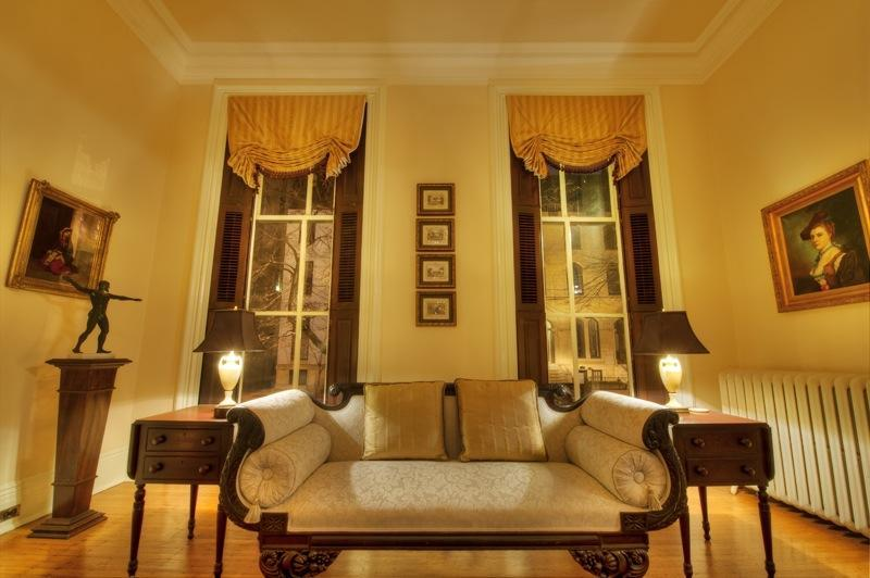 Front Parlor - 1 Bedroom In-laws Apartment in Mansion w/ parking - Baltimore - rentals