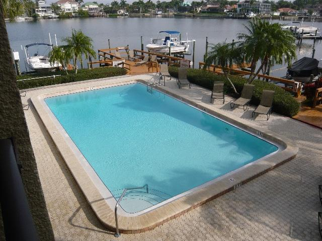 The Pool and Dock Area - Sunny Naples Walk to Beach, Magnificent Views - Naples - rentals