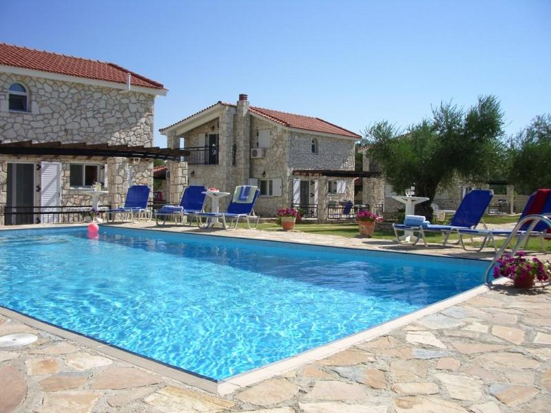 Kaminia Villas pool area - Kaminia Villas, Zakynthos, Ionian islands, Greece - Zakynthos - rentals