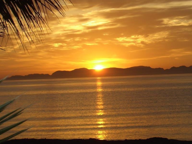 One of our Wonderful Sunrises - Loreto Beach Oasis - Loreto - rentals