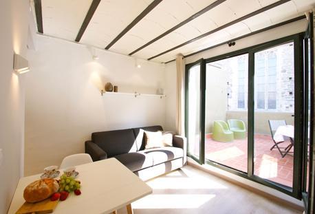 Borne Basilica Basic Loft A - Image 1 - Barcelona - rentals