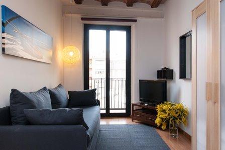 Liceu Loft Studio E - Image 1 - Barcelona - rentals