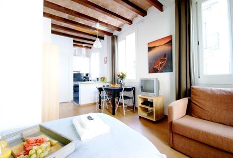 Barceloneta Beach Studio E - Image 1 - Barcelona - rentals