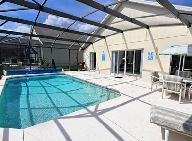 Private Pool Deck at Glenbrook Retreat - Glenbrook Retreat - Clermont - rentals