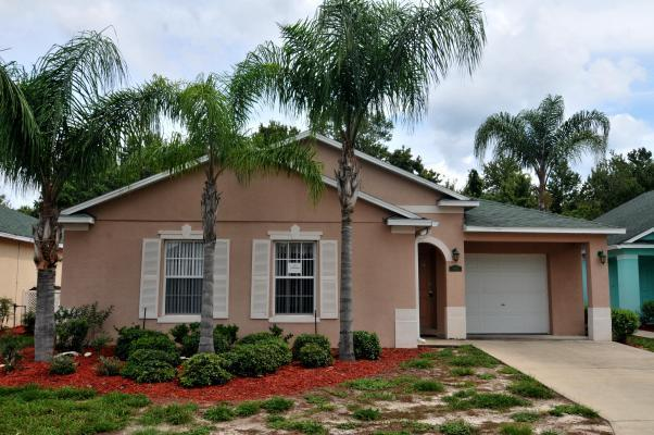 Front - Vacation Home With Private Pool Rental In Florida - Davenport - rentals