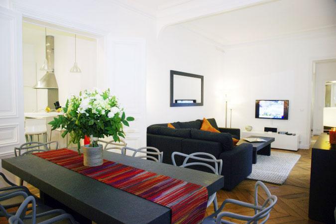 Champs Elysees 3 Bedroom 3 Bath (3991) - Image 1 - Paris - rentals