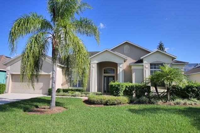 Front of Home - Ridgewood Lakes 5 Bed Golf Course Home (806-RID) - Davenport - rentals