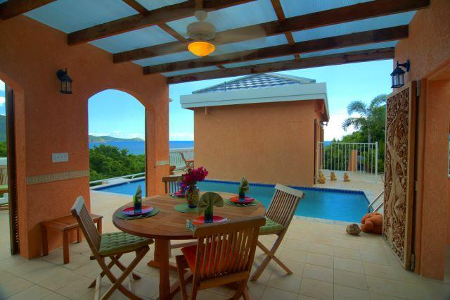 Lanai - Eco Friendly Holiday Villa - Virgin Islands National Park - rentals