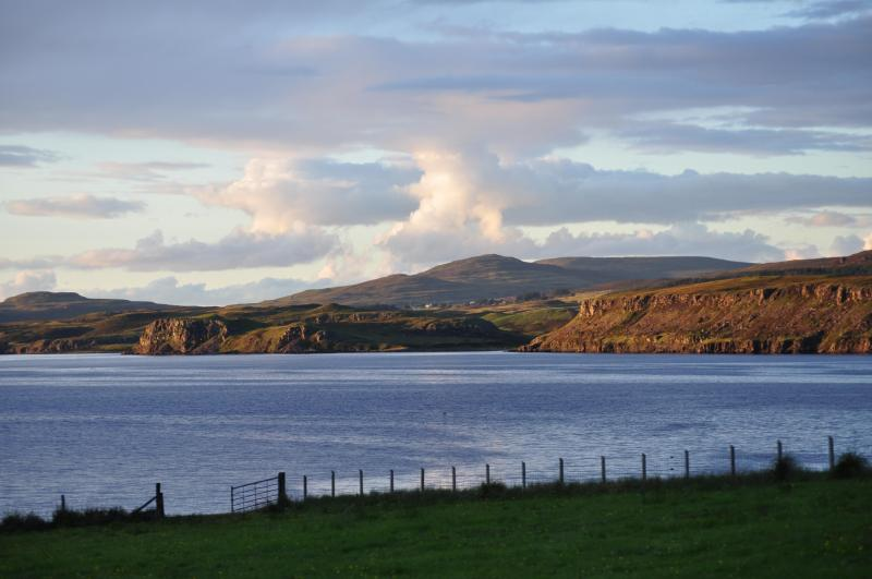 View from Studio - Quality Studio  with idyllic views over sea loch - Isle of Skye - rentals