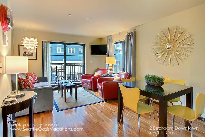 2 Bedroom, Downtown Seattle Oasis Vacation Rental - Image 1 - Seattle - rentals