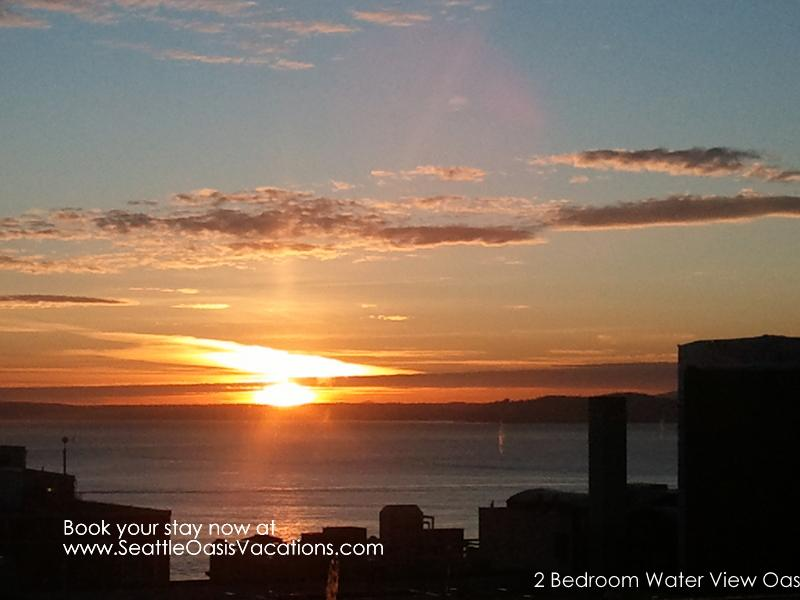 2 Bedroom Water View Oasis-Summer sale!  15% off August dates! - Image 1 - Seattle - rentals