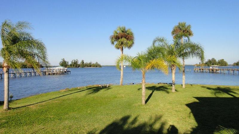View from Back Deck - Old Palm Waterfront Vacation Rental Home - Sebastian - rentals
