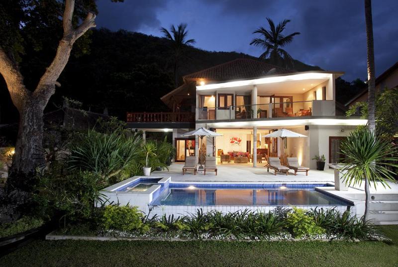 Villa Pantai Bali at dusk - Luxury Beachfront - Villa Pantai Bali - Candidasa - Candidasa - rentals