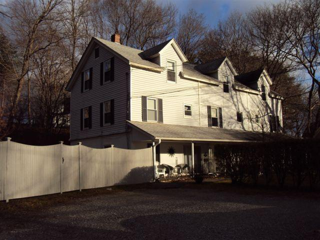 Gartner House is the unit on the left, one of three - Gartner House, a charming home in Lenox - Lenox - rentals