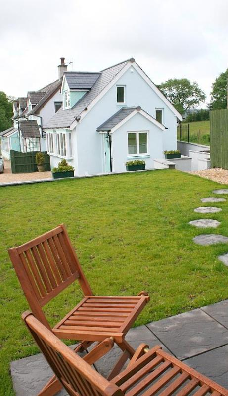 View from patio - Oriel Garn Cottage - Abergavenny - rentals