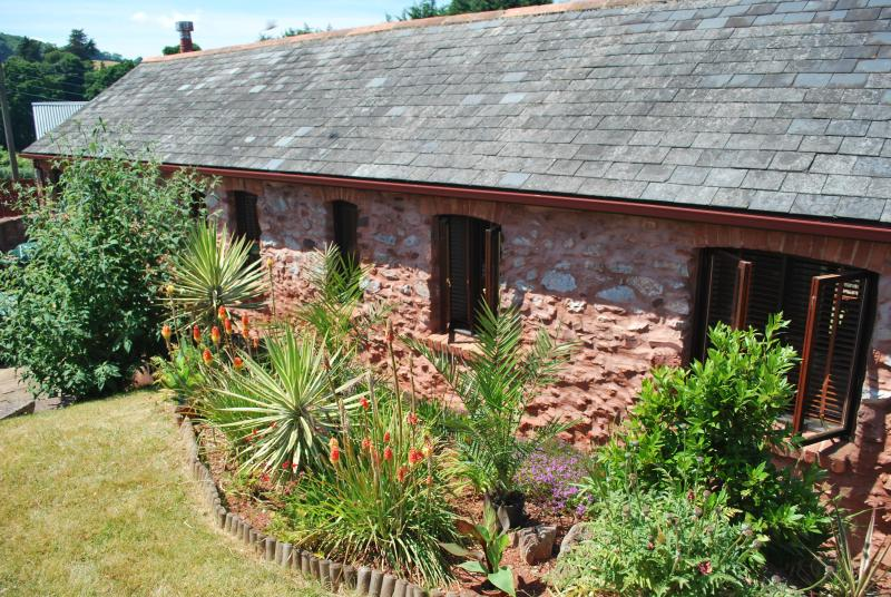 The Cottage - from the rear - Luxury 2 bedroom barn conversion near Torbay Devon - Paignton - rentals