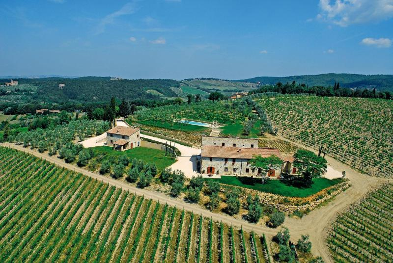 Rustic Countryside Farmhouse Between Florence and - Image 1 - Castellina In Chianti - rentals