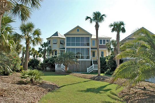 Front of House - Ocean & Inlet Views, 5 Bd, 4.5 Ba, Elevator, Pool! - Isle of Palms - rentals