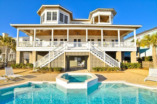 Pool & Rear Exterior - Special Discount for August Openings!* - Isle of Palms - rentals
