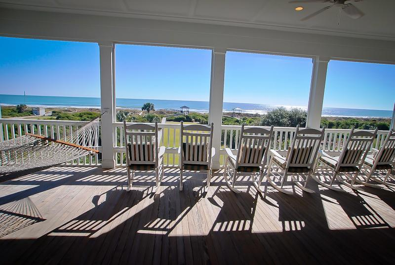 Screened Porch - 6 Bed, 6 Bath, Oceanfront! 2 Big Screened Porches! - Isle of Palms - rentals