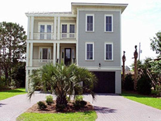 Front of House - 5 Bed, 5 Ba w/Ocean View! Rooftop Deck, Ping Pong! - Isle of Palms - rentals