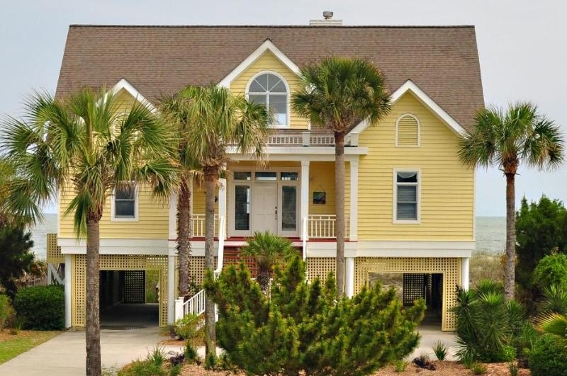 Front of House - Oceanfront 4 Bd, 4 Ba, Pool/Spa & Summer Kitchen! - Isle of Palms - rentals