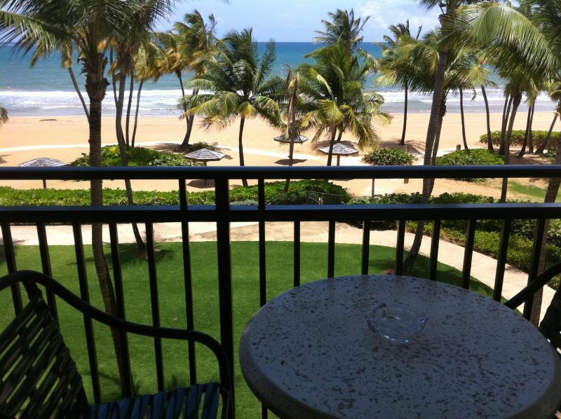 Beach front 2 bed/bath inside Wyndham Grand Resort - Image 1 - Rio Grande - rentals