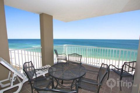 Plenty of seating on the balcony - Romar Place 1002 - Orange Beach - rentals