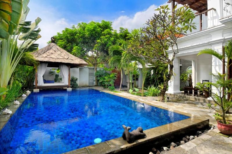 Relaxing Bale - Family Pool Villa with Pool Fence - Seminyak beach - Seminyak - rentals
