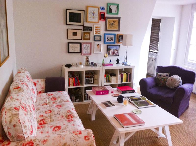Living Room - Cozy Apartment in Bastille !!! - Paris - rentals