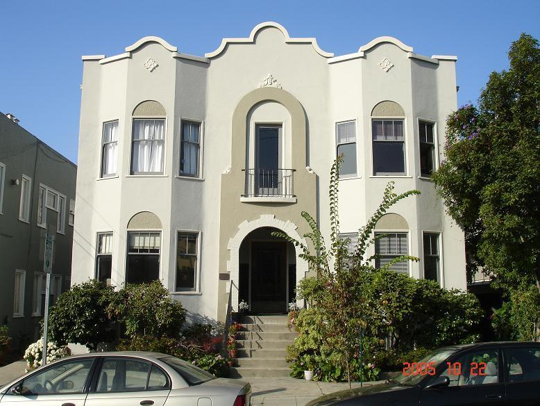 Classic, elegant stucco building. - Furnished sunny apt northside, walk to UC campus - Berkeley - rentals