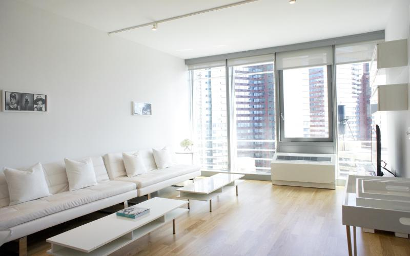 Living room - One Bedroom Residence - New York City - rentals