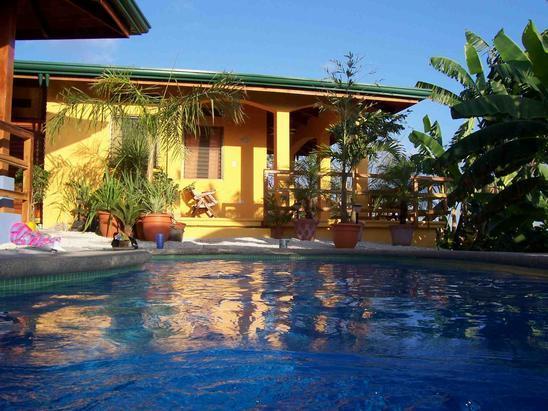 Casa Mango in the gentle afternoon sun - Ocean View House, Pool, AC, WIFI - Casa Mango - Playa Samara - rentals