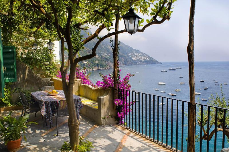 terrace - Villa Gaia terraces and sea view , Positano center - Positano - rentals