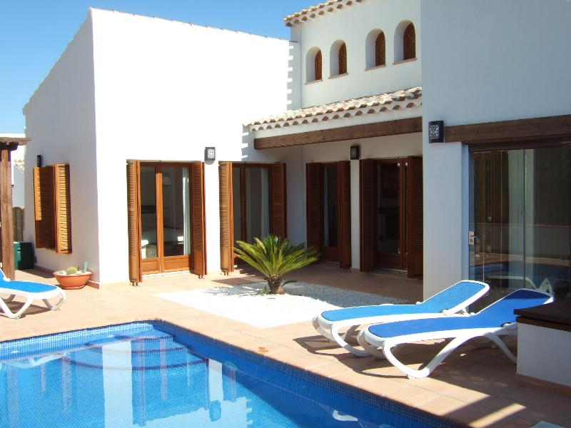 Private pool - Villa Palmera, El Valle Golf Resort, Murcia - Region of Murcia - rentals