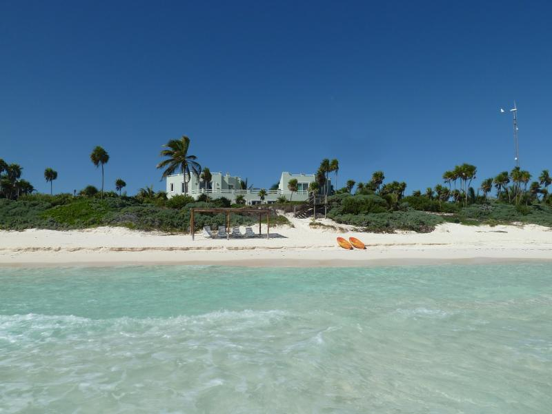 Turtle's view as they come to nest! - Luxury 4 Bedroom Villa, Tulum, Sian Ka'an Beach - Tulum - rentals