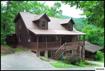 front view of cabin - 4 bedroom gatlinburg cabin with community pool - Gatlinburg - rentals