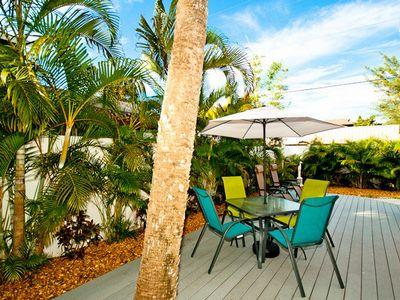 Patio - The Seashell Cottage - Anna Maria - rentals