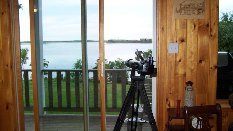 View from inside the Beach House - Butler Beach House - Cottage Vacation Rental - Prince Edward Island - rentals