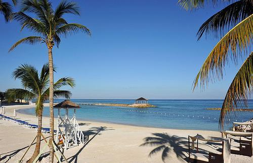 Our beach - Luxurious 1 BdRm Ocean Front Condo in Montego Bay - Montego Bay - rentals